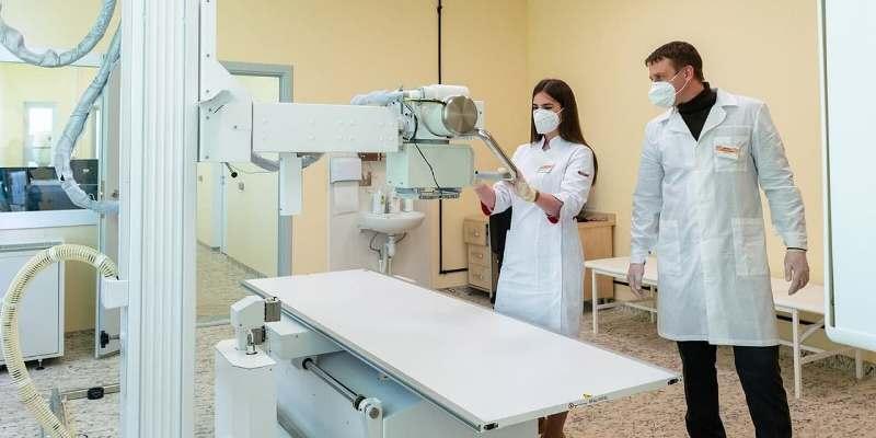 Рентгенологи Москвы стали оперативнее анализировать лучевые исследования пациентов. Фото: Д. Гришина Пресс-служба Мэра и Правительства Москвы